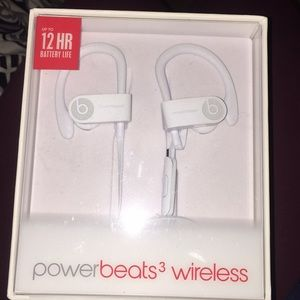 white powerbeats 3 by dre